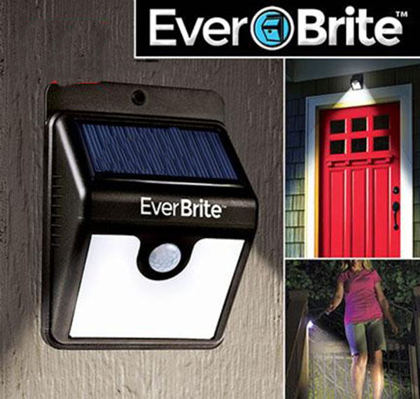 Đèn cảm ứng năng lượng mặt trời Ever Brite cảm biến tự động