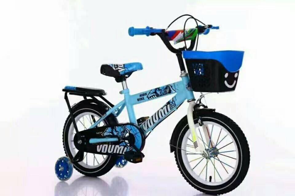 Xe đạp trẻ em Youmi cao cấp giá rẻ nhất thị trường màu xanh nhẹ nhàng