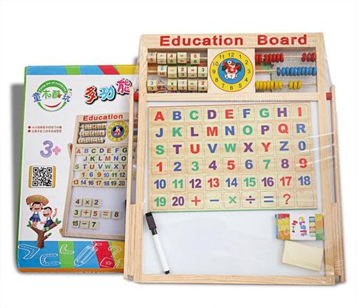 Bảng chữ cái tiếng việt bằng gỗ có nam châm cho bé