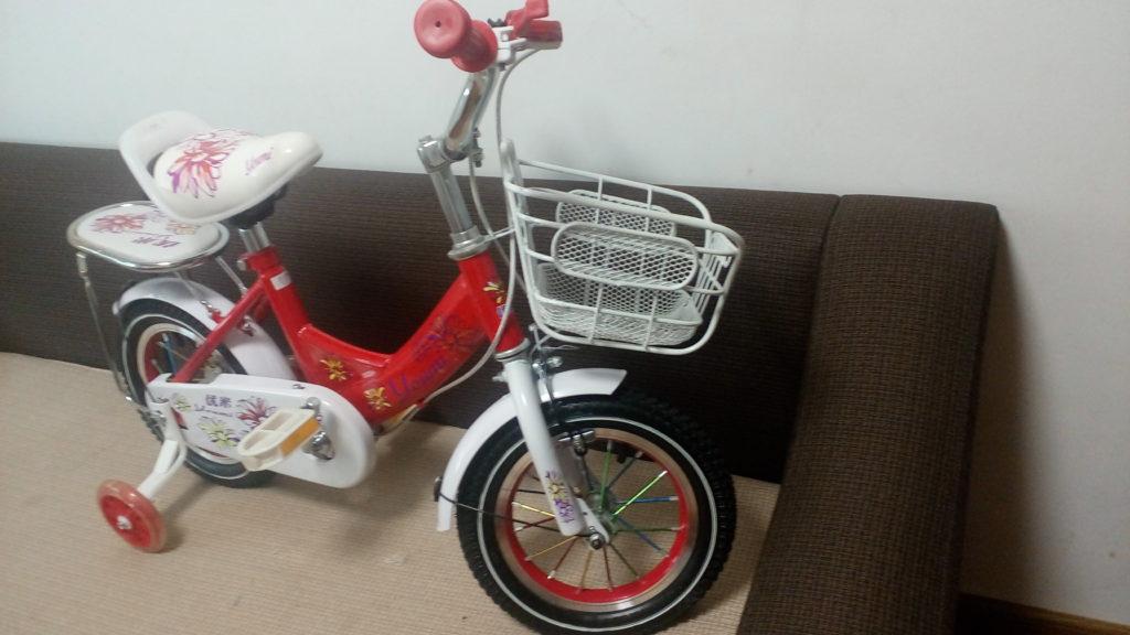Xe đạp trẻ em cho bé 2, 3, 4, tuổi Youmi màu đỏ giá rẻ vành gió cực đẹp